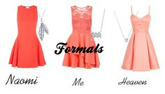 """""""Formals"""" by cj34turtles ❤ liked on Polyvore featuring Links of London, Dorothy Perkins, Halston Heritage, Nina B, BERRICLE, coral, twinsies, formals and whenyourbestfriendsareyourdates"""