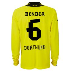 2013-2014 Borussia Dortmund Puma Home Long Sleeve Football Shirt (6 Bender)  http e20082f365ea1