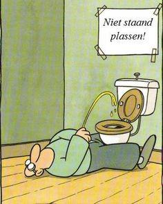 Hang dit in geen geval in een toilet dat jij moet schoonmaken!!!