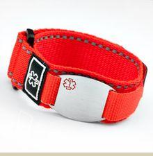 medical emergency sport strap medical id bracelet