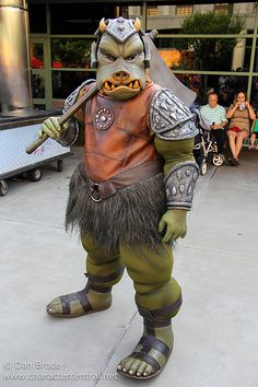 Gamorrean Guard at Disney Character Central