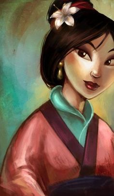 :D Day Your favorite heroine Who will go up against me if I say Mulan is my favorite heroine? Pocahontas, sure, but Mulan had the. Film Disney, Arte Disney, Disney Princess Art, Disney Fan Art, Disney Dream, Disney Love, We All Mad Here, Studio Ghibli Films, Princesse Disney Swag