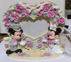 Image result for disney mickey minnie wedding photo frame