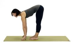 The Simplest and Most Essential Yoga Poses for Beginners: Half Forward Bend - Ardha Uttanasana