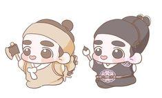 Exo Fan Art, Fanarts Anime, My Youth, Kyungsoo, Chibi, Family Guy, Animation, Kpop, Cartoon