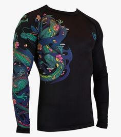 """Battle Dragons"" Rashguard"