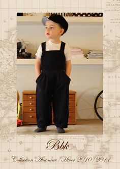 Love the cut of these overalls.