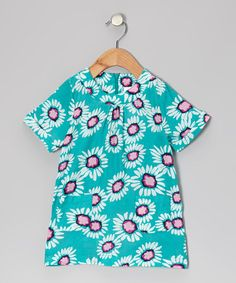 Take a look at this Blue Cela Dress - Infant, Toddler & Girls by Aioty on #zulily today!