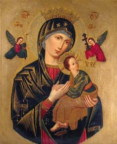 """18th or 19th Century Continental School  """"Our Lady"""