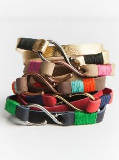 Gifts that give back: Affordable leather wrap bracelets from @livefashionable support women in Ethiopia