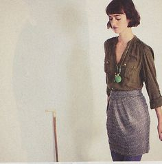 outfit | via Anthropologie Catalog (October 2010)