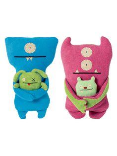 Bop N' Beep & Jeero + Wedgehead & Ox by Ugly Doll on sale now on Gilt.