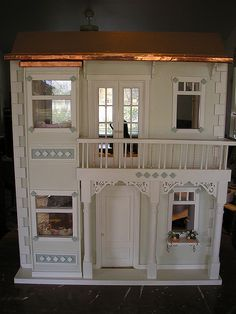 Ideas for the outside of our barbie doll house