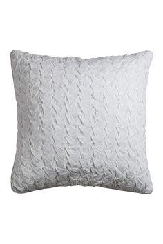 """Rizzy Decorative Throw Pillow - 22"""" x 22"""" - White"""