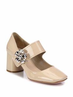 Zapatos, los Zapatos de Patricia - El Blog de Patricia : ¿Le decimos 'Sí, quiero' a las margaritas en los zapatos? Prada ha dicho sí.