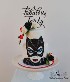 Catwoman cake Piece of Cake Pinterest Cake Birthdays and