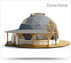Casas doma geodecing