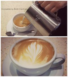 We love Coffee Art!  Want more? http://gooseberrybushcentres.com