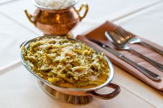 Farsi Bhaji Vegetable Specialty: Green Beans cooked with coconut milk and cream.