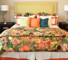 Lynn Chalk - Duvet Cover in Schumacher Chiang Mai Dragon, Please fill out Quote Form for Duvet Cover for pricing or email me lynn@lynnchalk.com if you would like a similar custom product. (http://store.lynnchalk.com/duvet-cover-in-schumacher-chiang-mai-dragon/)
