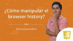 ¿Cómo manipular el browser history? #devTips