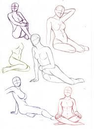 Image result for mermaid pose reference