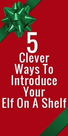 How will you introduce Elf on the Shelf this year? I have some clever ideas for you!