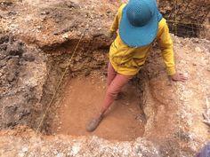 Footing dug