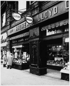 Vintage Optical Store-Lloyds-Opticians