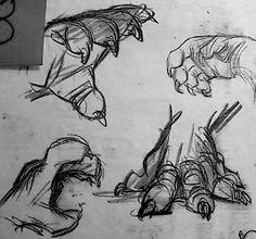 Film: Beauty & The Beast ===== Character Design: The Beast ===== Artist: Glen Keane