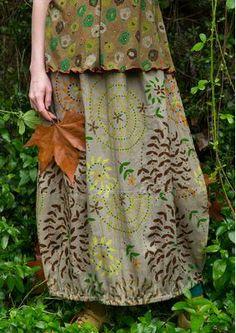 Mix in rich autumn colors – Gudrun Sjödén Boho Fashion, Girl Fashion, Fashion Design, Beautiful Outfits, Cool Outfits, Gudrun, Forest Girl, Mori Girl, Mode Style