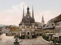 Centro de Wernigerode (Foto: TASCHEN via BoredPanda)