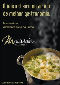 Cartaz Restaurante Macunaíma