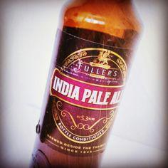 Beer / Cerveza: Fuller's Indian Pale Ale.