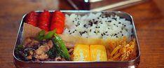 朝楽チンお弁当の詰め方☝︎|LIMIA (リミア) Bento Box, Food And Drink, Meals, Chicken, Lunch Ideas, Cooking, Baking Center, Meal, Kochen