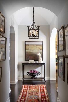 Hallways, corners, and nooks are fair game for beautiful design | http://archdigest.com