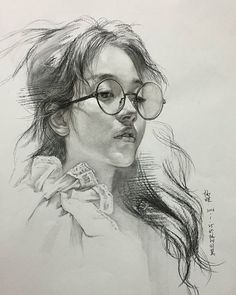 Gorgeous portraits & beautiful sketches by Lee. She uses the softest colors for her portraits and a faint shadow on cheeks, Life Drawing, Figure Drawing, Drawing Sketches, Pencil Drawings, Painting & Drawing, Art Drawings, Marker Drawings, Drawing Ideas, Colour Drawing