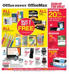 Office Depot  Officemax Ad April      HttpWww