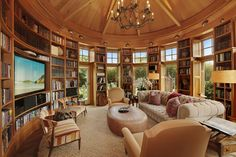 I want to move in to this amazing home library. Listed by @Corcoran Group, in East Hampton.