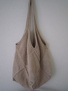 Ravelry: p.100 Linen Bag pattern by Solveig Orstad Teigen