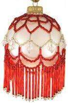 Handmade beaded ornament 2