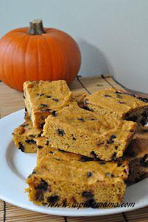 vegan pumpkin bars