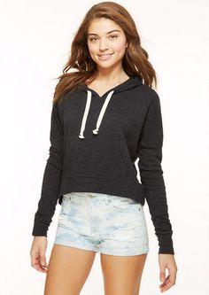 pullover hoodie | delias