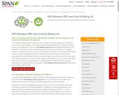 13 best sap netweaver gateway and odata services images on pinterest reach top executives with the valid softlayer customer contact database call span global services to generate leads using right softlayer user list fandeluxe Choice Image