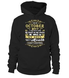 # I'M AN OCTOBER GIRL. I WAS BORN WITH MY HEART ON MY SLEEVE… .  See more OCTOBER designs at 2 link below:https://www.teezily.com/stores/october_woman_shirt_birthdayhttps://www.teezily.com/stores/i-am-an-october-girl-tshirtOr search for your dreams here:Special Offer, not available anywhere else!      Available in a variety of styles and colors      Buy yours now before it is too late!      Secured payment via Visa / Mastercard / Amex / PayPal / iDeal      How to place an order…