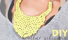 DIY | Collar babero hecho con silicona caliente