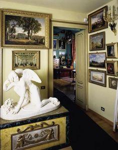 """Casa-museo Mario Praz  Casa di scrittore o casa di collezionista? Di collezionista. E """"La casa della vita""""."""