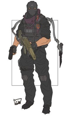 Taiwan thunder squad by obokhan Armor Concept, Concept Art, Character Concept, Character Art, Science Fiction, Cyberpunk Kunst, Futuristic Armour, Future Soldier, Ex Machina