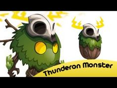Thunderon Monster In Monster Legends Level 1 To 75 And Review Egg