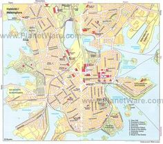 Helsinki Map - Tourist Attractions